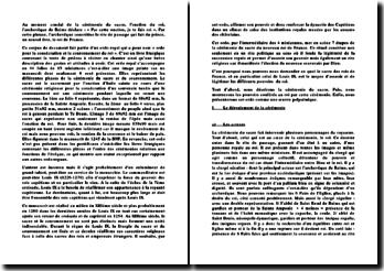 L'ordo du sacre du milieu du XIIIème siècle