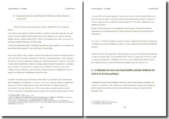 Conseil d'Etat, 12 janvier 2011, Matelly