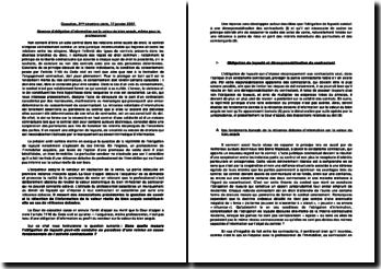Commentaire de l'arrêt de troisième chambre Civile de la Cour de Cassation du 17 janvier 2007 : Absence d'obligation d'information sur la valeur du bien acquis, même pour le professionnel