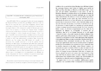 Commentaire des Mémoires de Louis XIV, chap. Le métier de roi