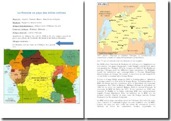 Histoire du Rwanda XXe Siecle