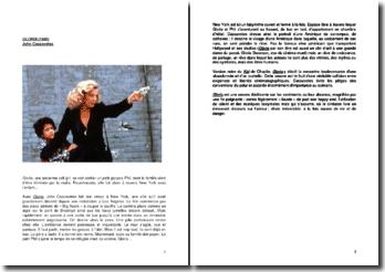 Critique du film Gloria (1980) de John Cassavetes