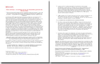 La résolution 43/131 de l'Assemblée générale des Nations Unies