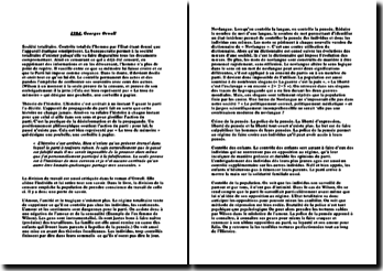 Fiche de lecture Georges Orwell 1984