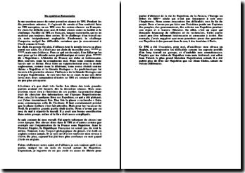 Synthèse personnelle de TPE sur Napoléon Bonaparte.