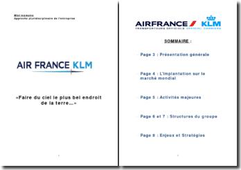 Exposé sur Air France KLM (2010)