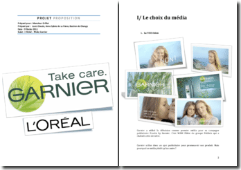 La communication de Garnier