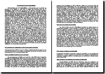 Conférence de presse de Gaulle en 1964 sur chef de l'Etat