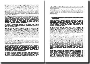 Chambre commerciale, 11 décembre 2007, opposabilité d'une clause attributive de compétence au liquidateur qui agit en rupture abusive d'un contrat