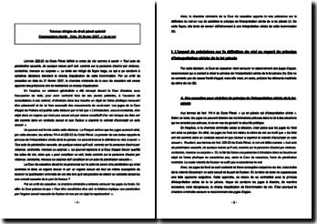 Commentaire d'arrêt Crim. 21 février 2007, n 06-89.543