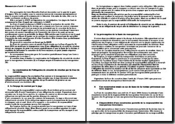 commentaire d'arrêt du 13 mars 2008