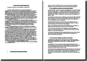 commentaire d'arrêt du 12 juillet 1995