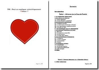 Peut-on expliquer scientifiquement l'amour ?