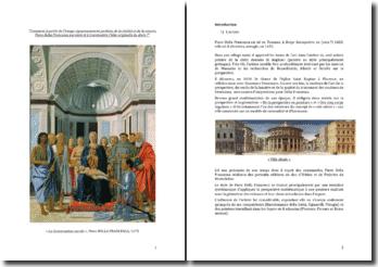 « La Conversation sacrée », Piero DELLA FRANCESCA, 1475