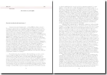 Dissertation Philosophie Terminale S peut-on tout attendre de la technique 2600 mots