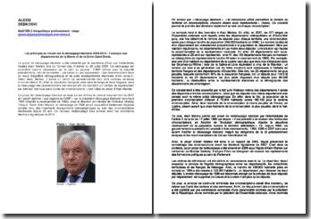 Les principes du travail sur le découpage électoral 2009-2010 : l'exemple des départements de la Marne et de la Seine-Saint-Denis