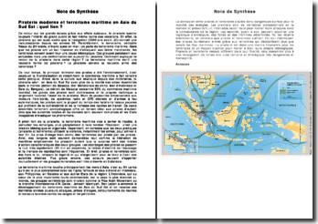 Piraterie moderne et terrorisme maritime en Asie du Sud Est : quel lien ? - 2011