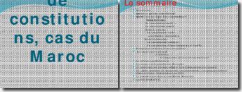 Les types de constitutions, cas du Maroc