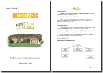 Dossier ACRC Aude literie
