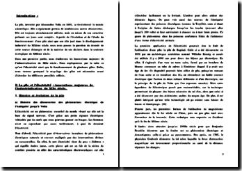 Les piles électrochimiques (TPE matière Histoire Géographie-Physique Chimie)