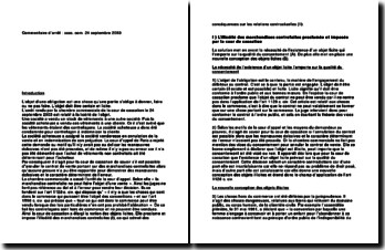 Arrêt : cass. com. 24 septembre 2003