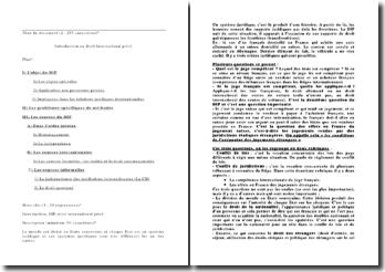 Introduction générale au droit international privé
