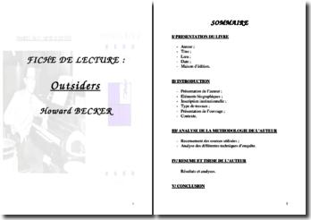 Outsiders - Howard Becker