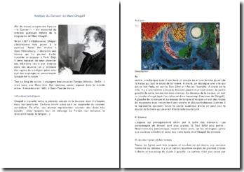 Le Concert de Marc Chagall