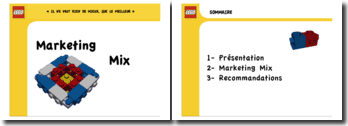 Marketing Mix : Exemple de Lego