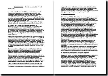 Cour de cassation, Civ. 1ère , 16 février 1977