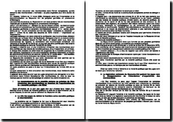 Commentaire d'arrêt du 11 mars 1986 de la CJCE, Conegate