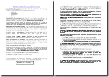 Définitions de base comptabilité financière (2010)
