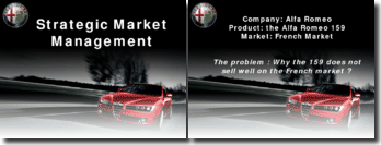 Strategic Marketing Management - Alfa Romeo 159