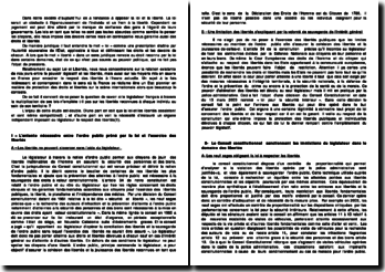 Multiplication des lois & Liberté en France