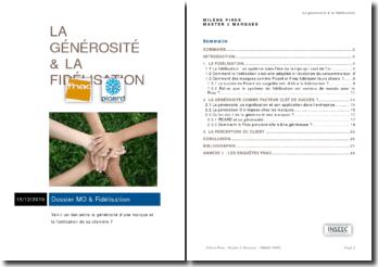 Le lien entre la générosité et la fidélisation