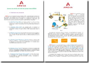 Autour du métier de chef de projet chez AREVA