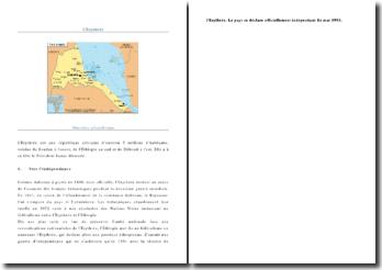Une analyse des migrations d'Asmara à Calais