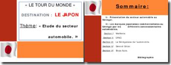 le secteur automobile japonais au senegal