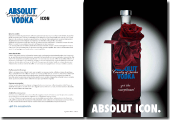 A qui s'adresse Absolut Vodka ?