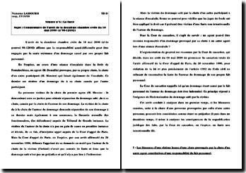 arrêt 2è ch civ. 18 mai 2000 (n 98-12802)