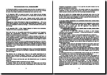Commentaire d'arrêt 1ère civ., 13 décembre 2005