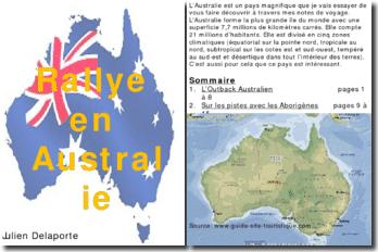 Rallye en Australie