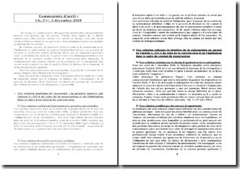 Garantie professionnelle-civ 3, 3 déc 2008