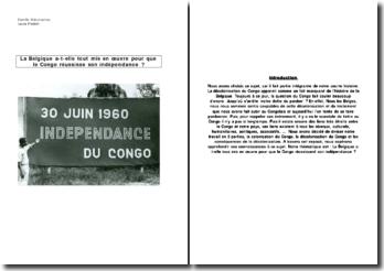 Congo - Indépendance