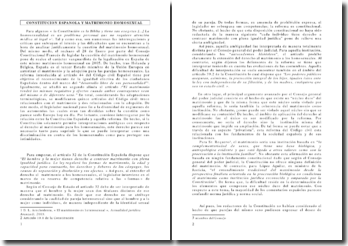 CONSTITUCION ESPANOLA Y MATRIMONIO HOMOSEXUAL