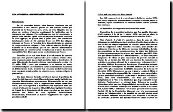 La légitimité des Autorités Administratives Indépendantes en tant que véritable source du droit ?