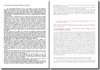 Commentaire de la décision du TGI du 18 mai 2004