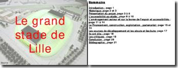 Le grand stade de Lille