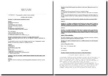 Analyse de contrat : contrat de location (ex.type)