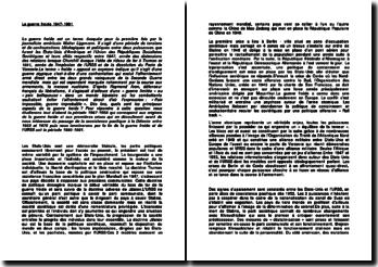 La guerre froide 1947-1991 - la transfiguration des relations internationales